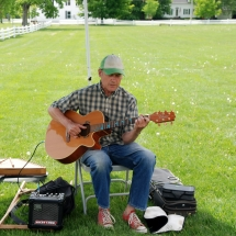 Allen Church - singer, songwriter, musician - Craftsbury Farmers Market