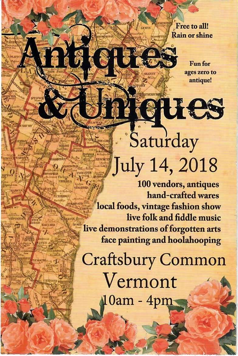 Northeast Kingdom Vermont Events - Antiques & Uniques Festival