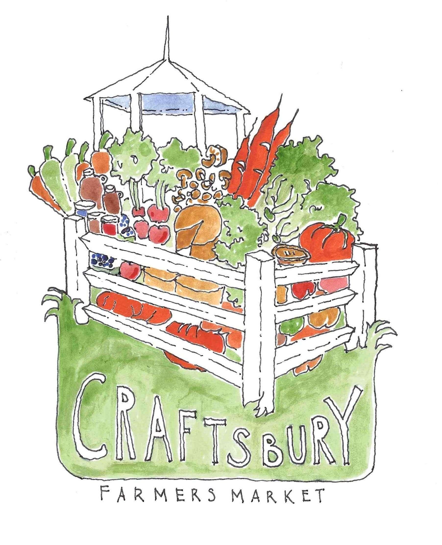 Craftsbury Farmers Market logo competition winner David Koschak