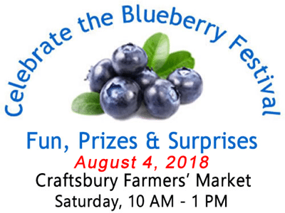 Vermont Blueberry Festival at Craftsbury Farmers Market