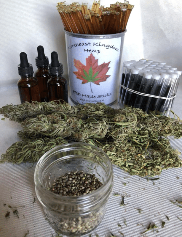 Northeast Kingdom Hemp - CBD oil products - Craftsbury Farmers Market