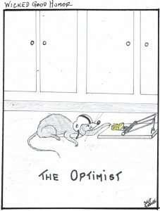 Optimist - Wicked Good Humor - Skip Sedore, Vermont author