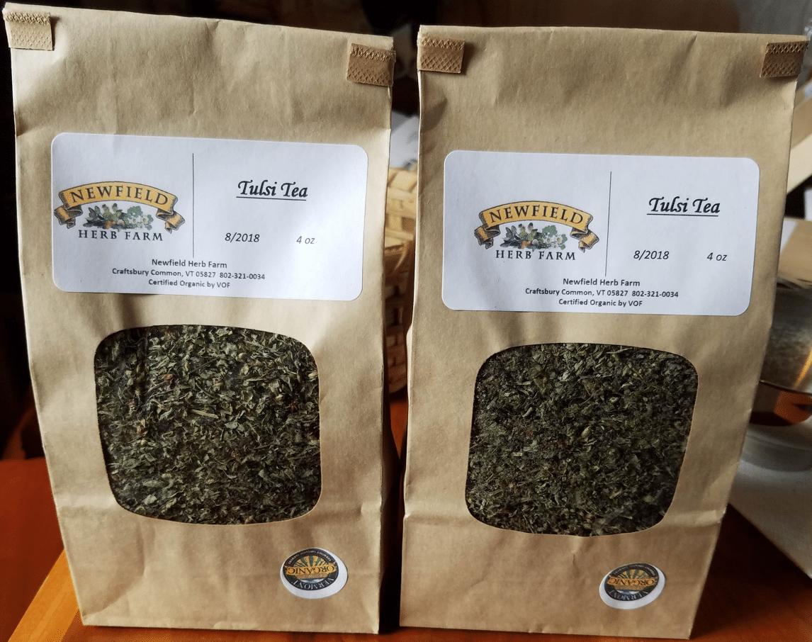 Newfield Herb Farm - Albany, VT - Tulsi Tea