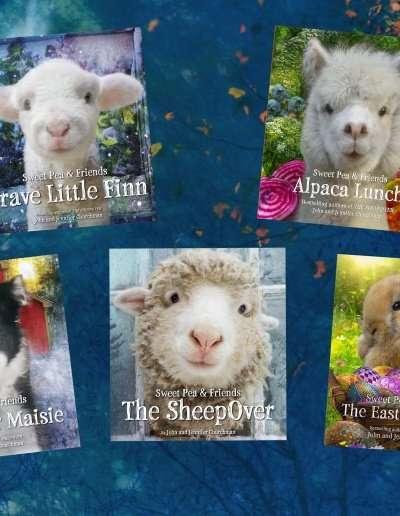 Sweet-Pea-Friends-series-John-Jennifer-Churchman-Vermont-authors
