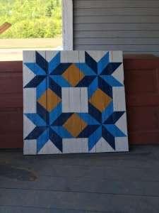 Hillside Homestead barn quilt - Albany, VT