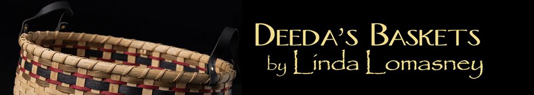 Deeda's Baskets hand-woven by Linda Lamosney