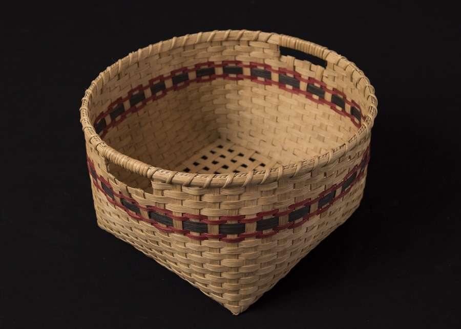 handmade Deeda's floor storage basket