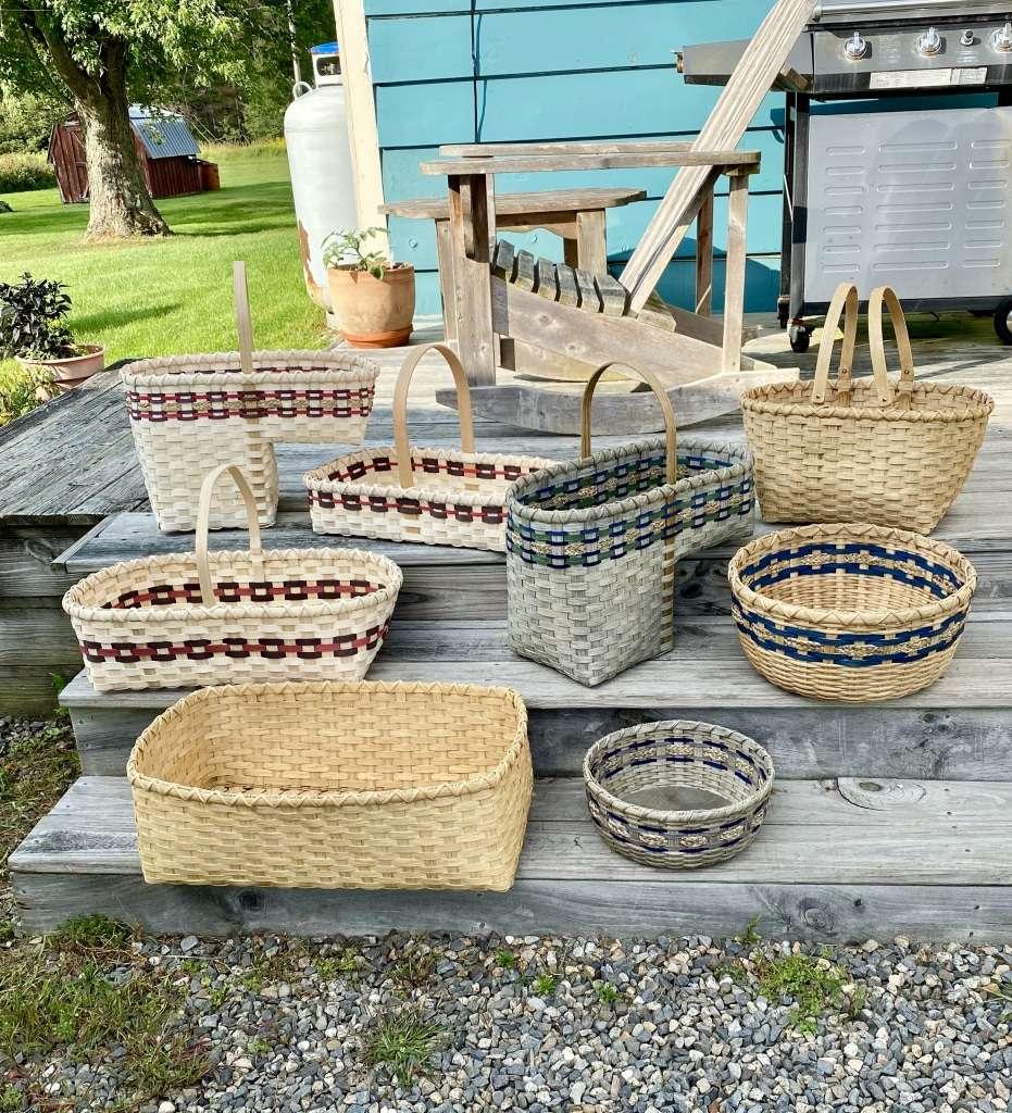 hand made baskets - Deeda's Baskets