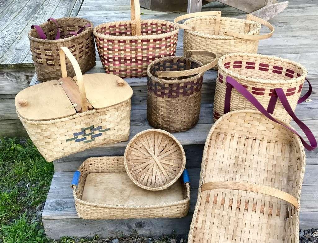 handmade baskets - Deeda's Baskets