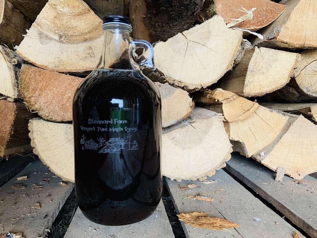 Stannard Farm Vermont Pure Maple Syrup - 1/2 gallon