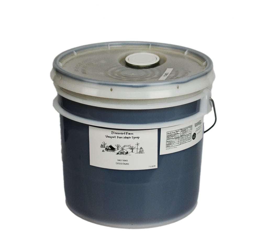 Maple syrup - Stannard Farm - 3.5 gallons